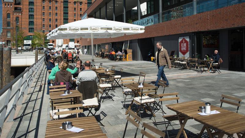 Kleine Heimat Cafe Bistro Hafencity Hamburg